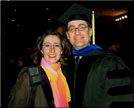 Luisa and I at the PhD graduation ceremony. Penn State 2005