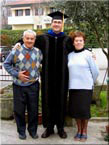 Together with my Granparents, Padova, 2005